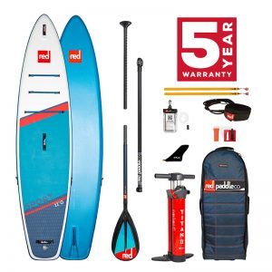 Red Paddle Co Sport 11'0 with carbon nylon paddle