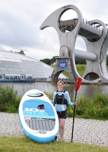 Emma at Falkirk Wheel