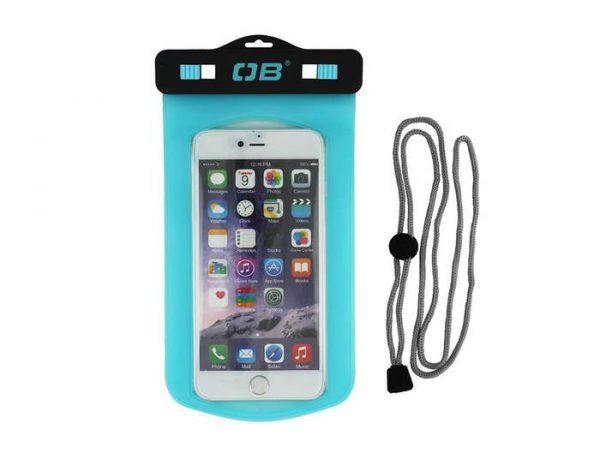Overboard phone case small aqua