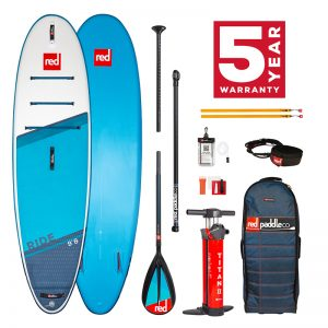 Red Paddle Co Ride 9'8 carbon nylon paddle