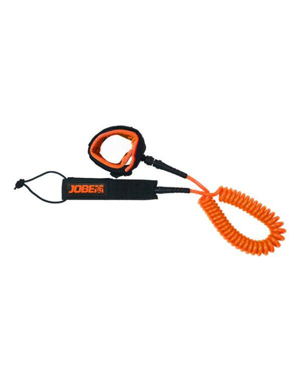 Jobe sup coil leash orange